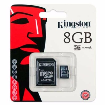 CARTAO MICRO SDHC  8GB - KINGSTON