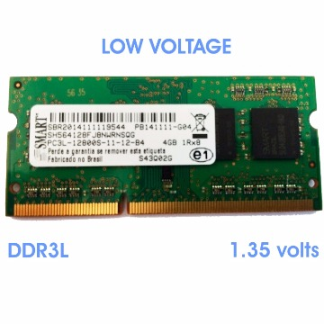 MEMORIA NOTE DDR3L  4GB 1600 MHZ SMART