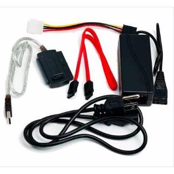 ADAP. USB P/ HD IDE/SATA c/ FONTE EXTERNA -CO06/AD0007