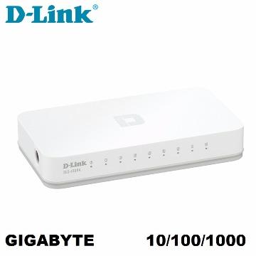 SWITCH  8 PORT 10/100/1000 D-LINK DGS-1008A