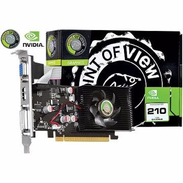 PLACA DE VIDEO PCIE GF  G210 1GB DDR3 64BITS -POINT OF VIEW