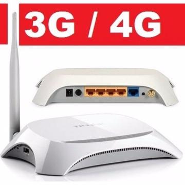 ROTEADOR WIFI TP-LINK 150MBPS TL-MR3220 c/ USB p/ MODEM 3G/4G