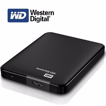 HD EXTERNO 1TB USB 2.0/3.0 Western Digital