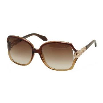 Óculos de Sol - Acetato - Roberto Cavalli (Paprika) - 653S50F