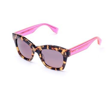 5ad6631e3549d Óculos Solar - Acetato - Fendi Color Block - F0025 S50140