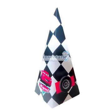 Cone Quadrado - Kit com 10 unidades
