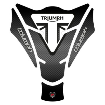 Tank Pad Exclusive Triumph Carbono