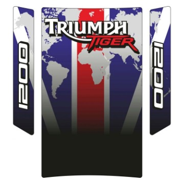 Tank Pad Exclusive Triumph Tiger 1200 World Color
