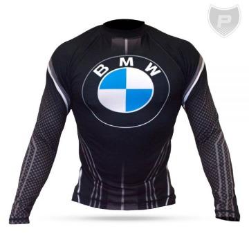 Camisa 2ª Pele BMW Black Logo