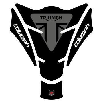 Tank Pad Exclusive Triumph Preto