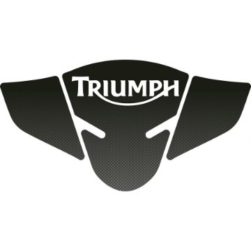 Tank Pad Exclusive Triumph Tiger 800 Carbono