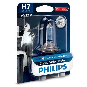 Lâmpada Philips H7 55W CrystalVision