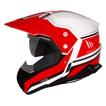 Capacete MT Duo Sport SV Vintage Red