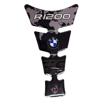 Tank Pad Exclusive BMW R1200GS Preto Mapa