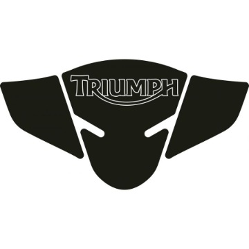 Tank Pad Exclusive Triumph Tiger 800 Preto