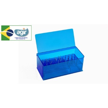 Suporte de Broca Agir Organizador Médico/Odontológico 108 Cavidades
