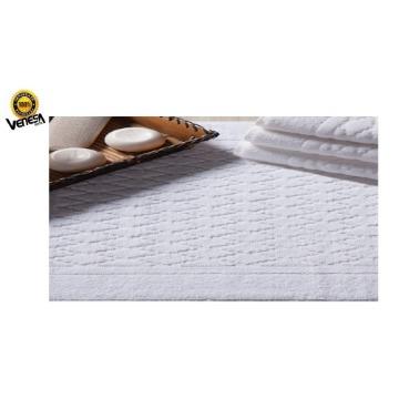 Toalha de Piso Classic Hotel Venesa Branco Felpa 100% Algodão 50x80-cm 06 Unidades