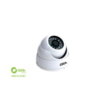 Câmera Dome Giga GS-0015 Open HD Plus 720p IR 30 Metros 1/4.2.6-mm - IP66