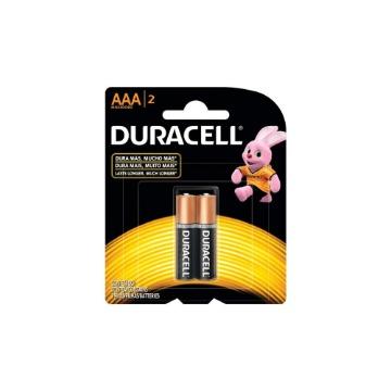 Pilha Duracell 1.5v AAA 2 Unidades