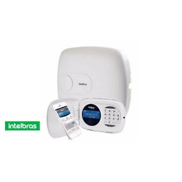 Central de Alarme Intelbras Amt-2018-eg Monitorada Teclado LCD