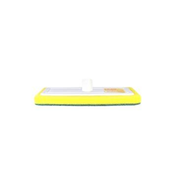 Rodo de Plástico HB Limpa Piso Abrasivo Rosca Universal Sem Cabo 12 Unidades