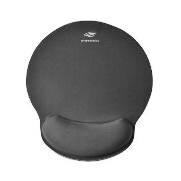 Mouse Pad C3-Tech MP-100 Com Apoio de Punho em Gel