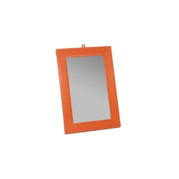 Espelho de Banheiro HB Parede Tamanho 18 Com Moldura Plástico Extra Grande 12 Unidades
