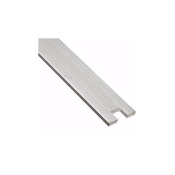 Escora de Alumínio Com Recorte de Cerca Elétrica 60-cm