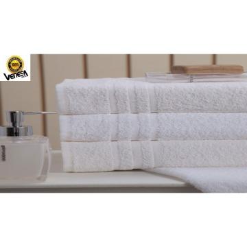Toalha de Rosto Classic Hotel Venesa Branco Felpa 100% Algodão 50x80-cm 12 Unidades