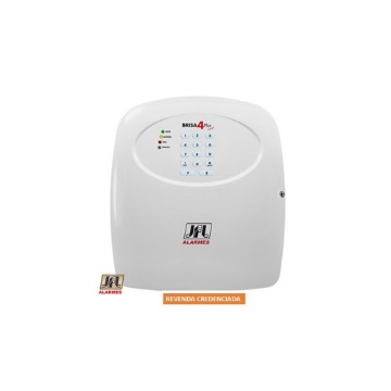 Central de Alarme JFL Brisa-4 Sinal Controle Remoto e Discadora