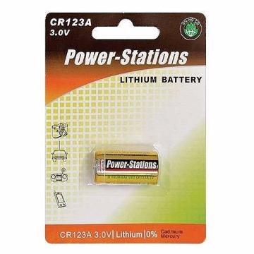 Bateria Alkalina Super CR-123 3.0V Lithio Para Sensor Alarme