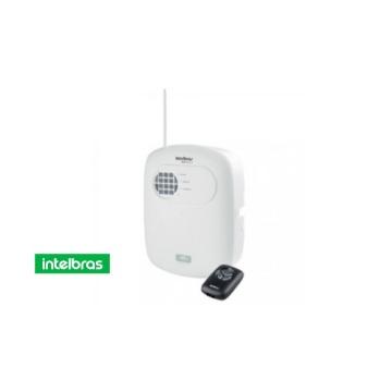 Central de Alarme Intelbras ANM-2004-mf Controle Remoto + Discadora Não Monitorável