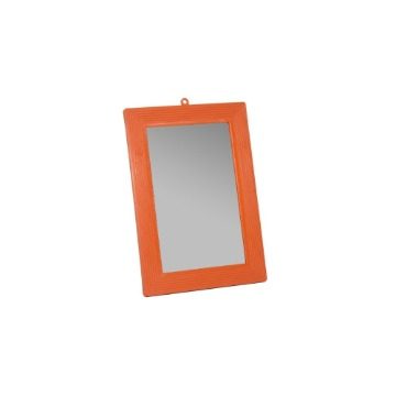 Espelho de Banheiro HB Parede Tamanho 14 Com Moldura Plástico Médio 12 Unidades
