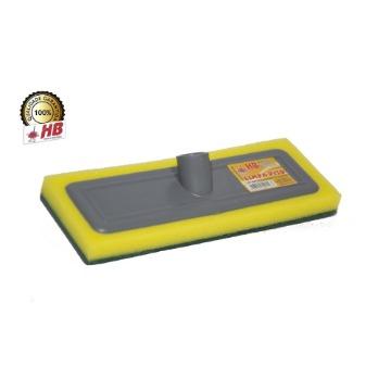 Rodo de Plástico HB Limpa Piso Rosca Universal S/ Cabo 12 Unidades