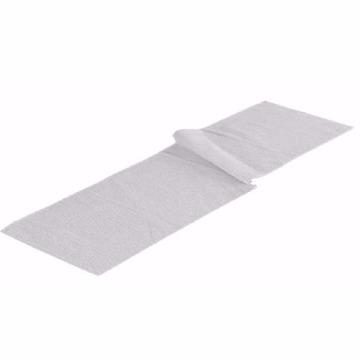 Toalha de Fitness Venesa Bordar Branco Felpa Algodão 100% Tamanho 22x86-cm 12 Unidades