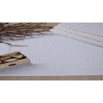Toalha de Piso Venesa Safira Proftel Hotelaria Branco 100% Algodão 50x80-cm 06 Unidades