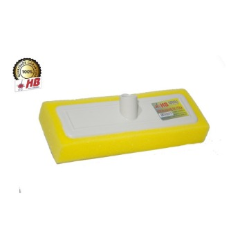 Rodo Passa Cera HB Base Plástico Rosca Universal Sem Cabo 12 Unidades