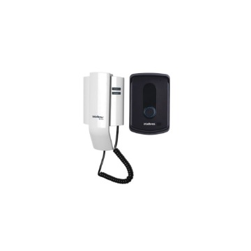 Interfone Residencial Intelbras IPR-8010 Acionamento de Fechadura e Sensor Arrombamento