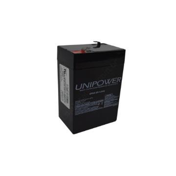 Bateria Selada Unipower 6V 4.5ah Recarregável Brinquedos