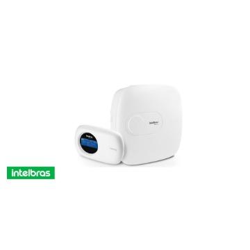 Central de Alarme Intelbras Amt 2018-eg Monitorada Ethernet + GPRS Teclado LCD