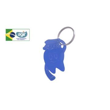 Chaveiro Kids Agir Decorativo Tema Dentinho Cores Sortidas Kit 50 Unidades