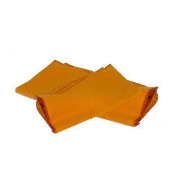 Flanela HB Algodão Amarela Limpeza Geral 28 x 38-cm 12 Unidades