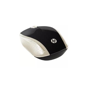 Mouse Optico HP X200 Oman 1000-dpi Dourado Sem Fio