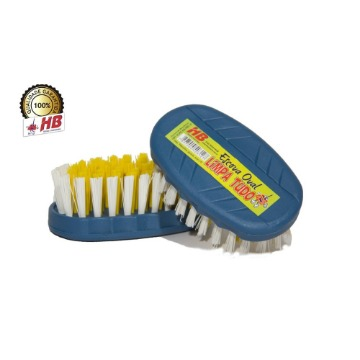 Escova Oval HB Base Plástico Limpeza Geral 12 Unidades
