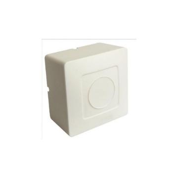 Caixa de Plástico Sobrepor Proteção de Conector de CFTV Universal 10 Unidades