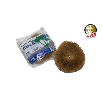 Escova de Coco HB Limpeza Geral Fibra Tamanho Extra Grande 12 Unidades