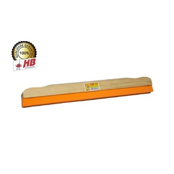 Rodo de Madeira HB Puxa & Enxuga Rosca Universal 40-cm Sem Cabo 12 Unidades