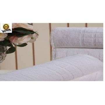 Toalha de Banho Topázio Venesa Branco 100% Algodão 75x150-cm 4 Unidades