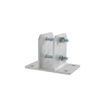 Suporte Metálico Big Haste Haste  de Cerca Elétrica Quadrada 10x10-cm Galvanizado