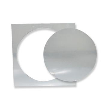 Espelho Decorativo Agir Adesivo de Parede Tema Circulo Em Acrílico